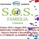 Capaccio-Paestum – Al via il progetto SOS Famiglia